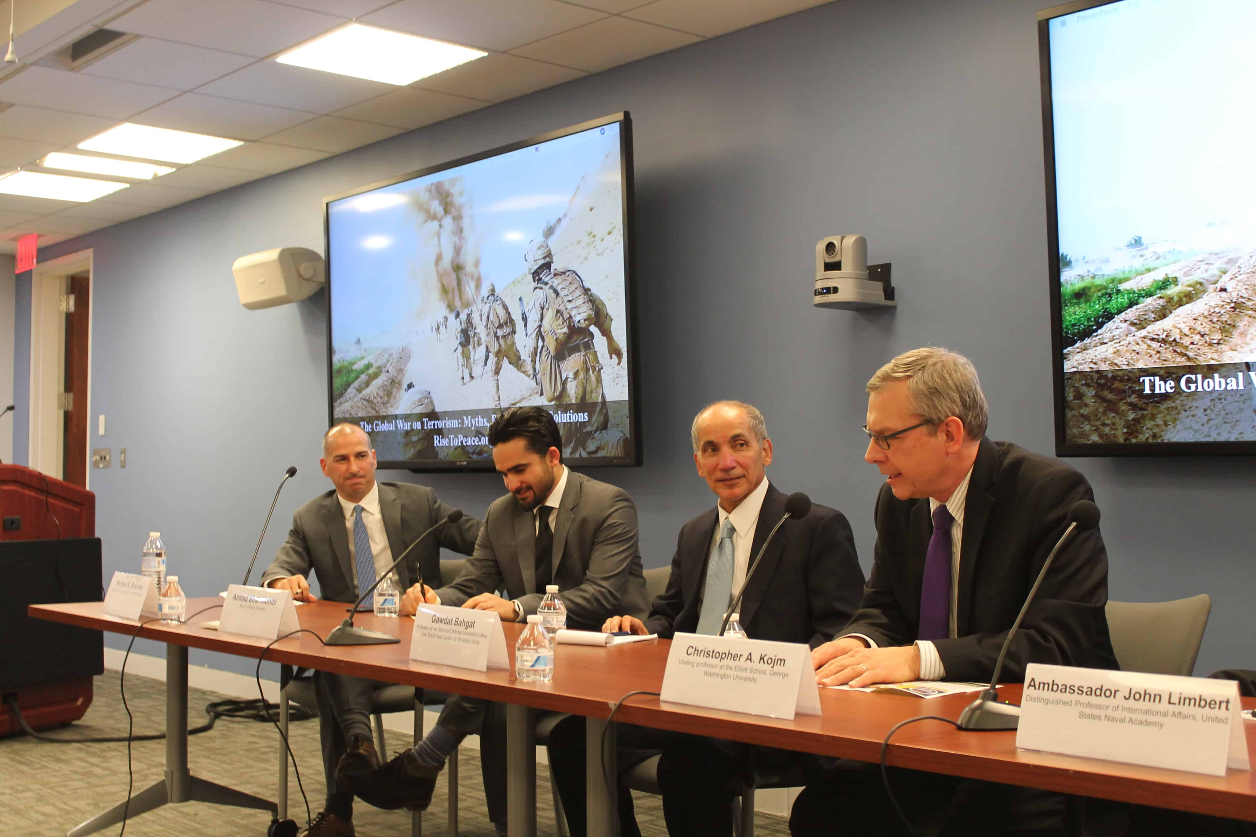 IMG 2848 - The Global War on Terrorism: Myths, Realities & Solutions