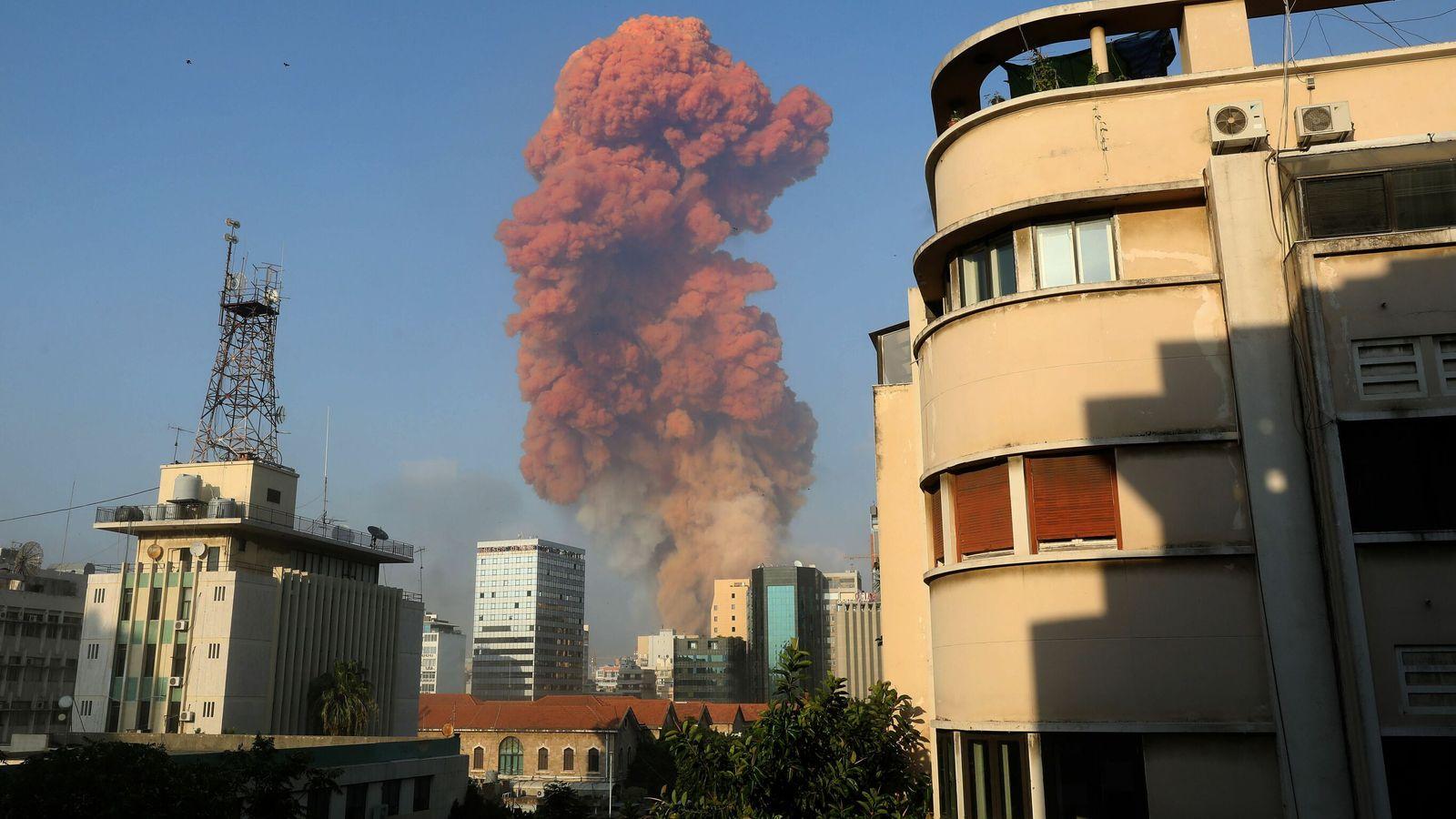 skynews beirut lebanon explosion 5058113 - Blog