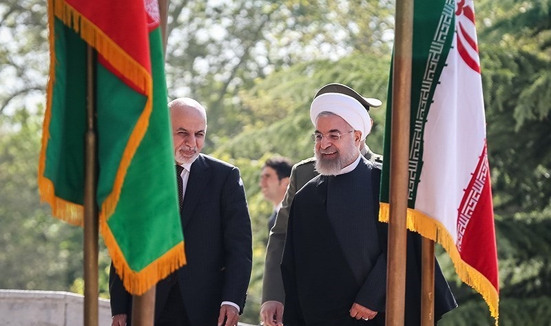 Iranian and Afghan Presidents Hassan Rouhani and Ashraf Ghani in Saadabad Palace 04 - Blog