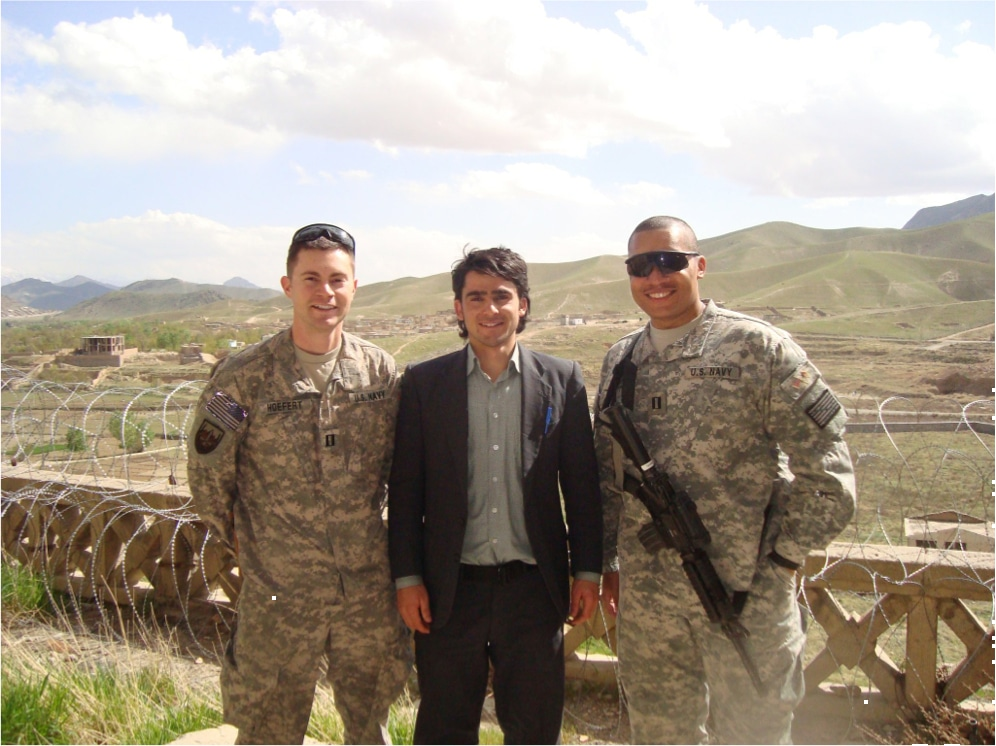 Ahmad Shah Mohibi with US Troops in Afghanistan 2 - Blog