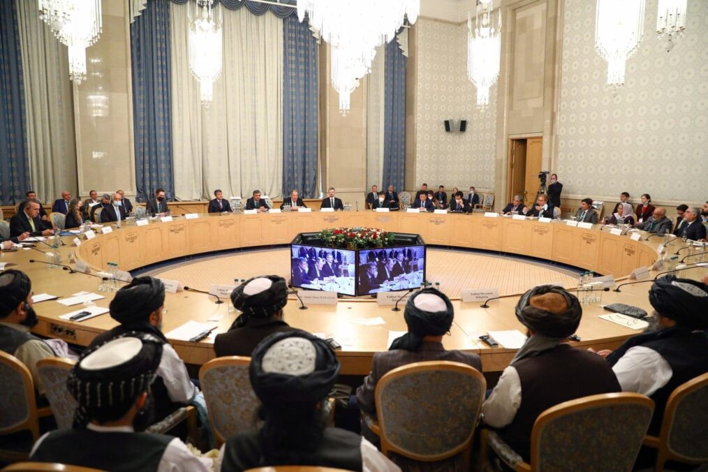 Current Afghan peace talks taking place in Moscow, Russia.