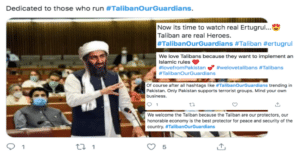 Picture 1 300x154 - #TalibanOurGuardians: Taliban Support Trends via Twitter During Afghanistan Repression